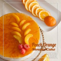 Orange or Peach Mousse Cake