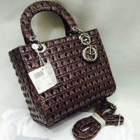 Quilted Drop Handle Bag