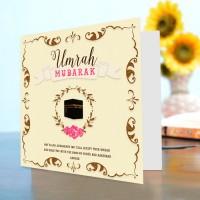 Umrah Mubarak Card