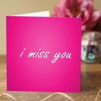 Miss You Card II