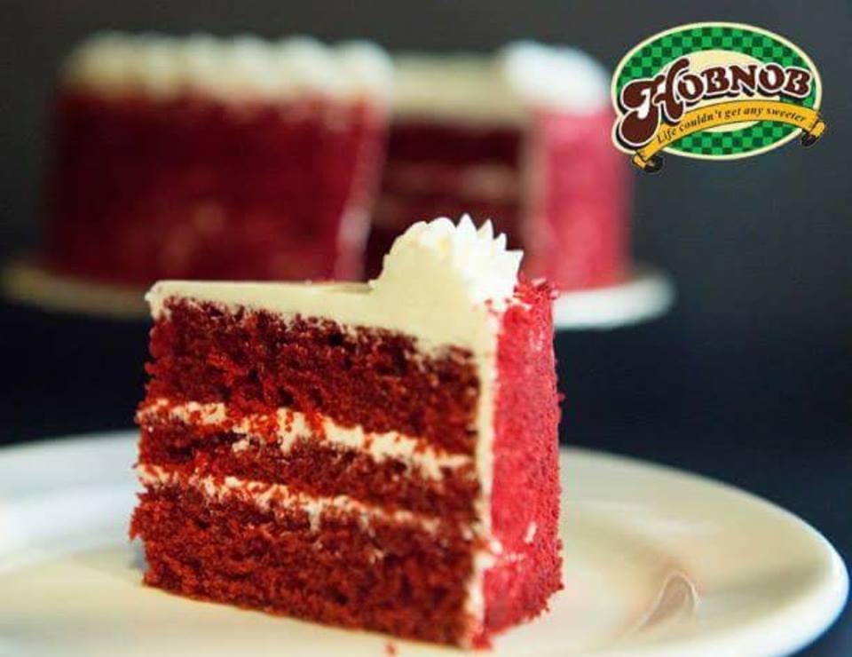 Strawberry Cheese Cake From Hobnob Bakery