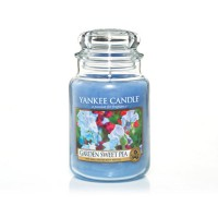 Garden Sweet Pea Candle Jar