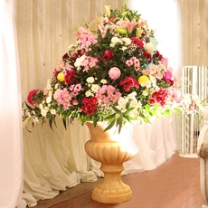 Large Imported Floral Arrangement