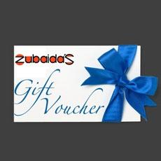Zubaida's Gift Voucher